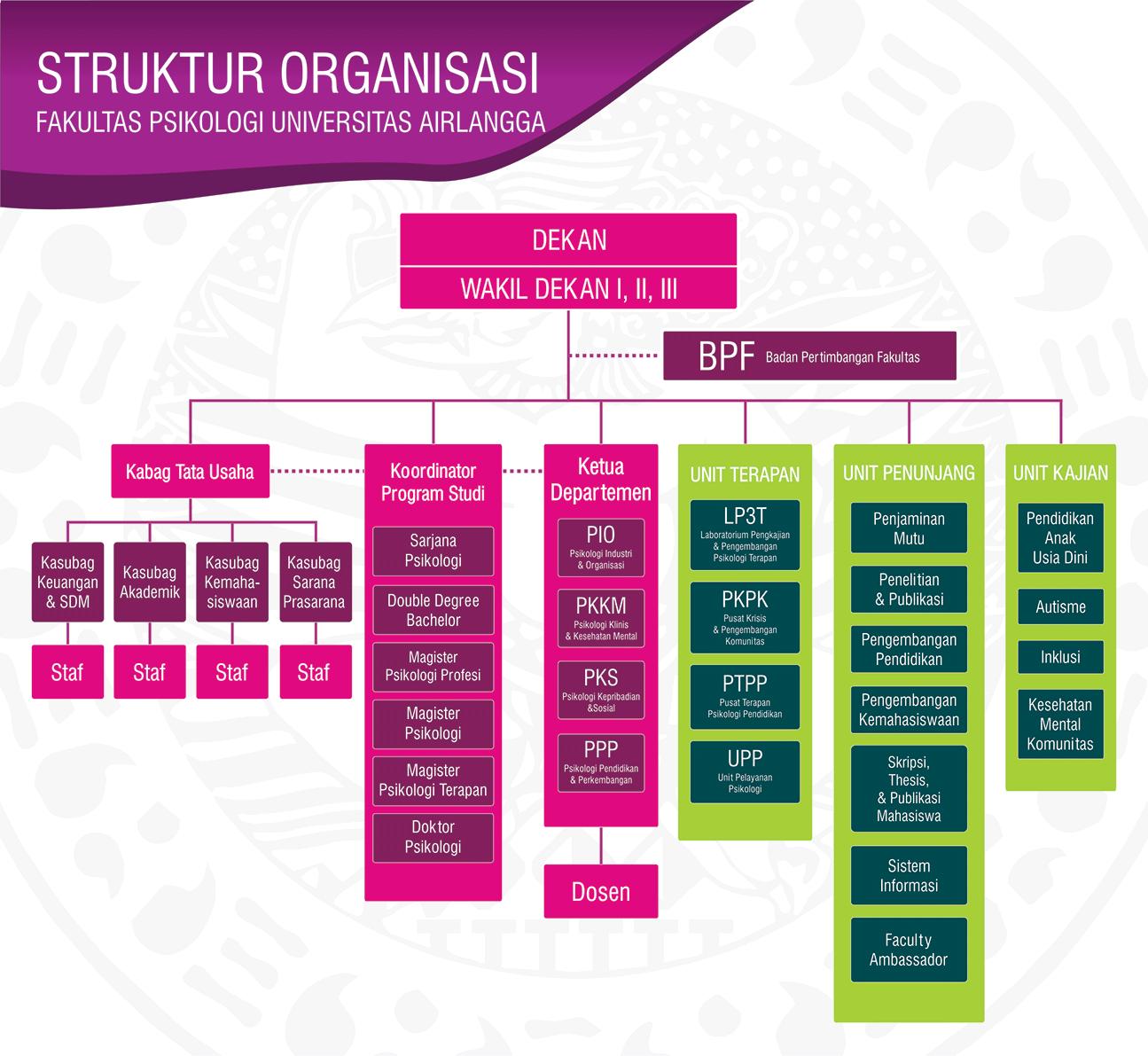 Organization Structure - Fakultas Psikologi