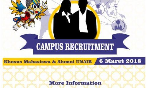 Airlangga Campus Recruitment 2018