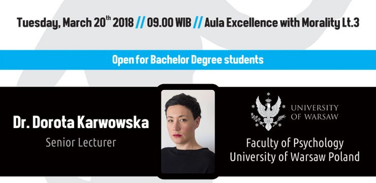 Guest Lecture & One Day Workshop
