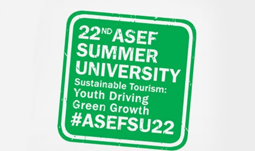 22nd ASEF Summer (ASEFSU22) on Sustainable Tourism