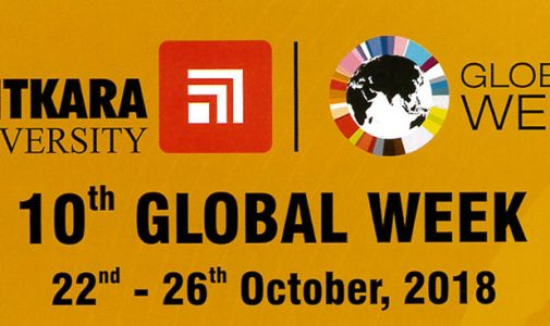 10th Global Week Chitkara University