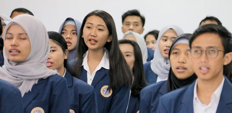 Pengukuhan Maba Pascasarjana FPsi UNAIR Angkatan 2018