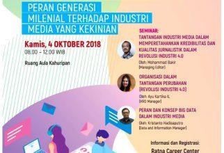 Kompas Saba Kampus: Peran Generasi Milenial Terhadap Industri Media yang Kekinian