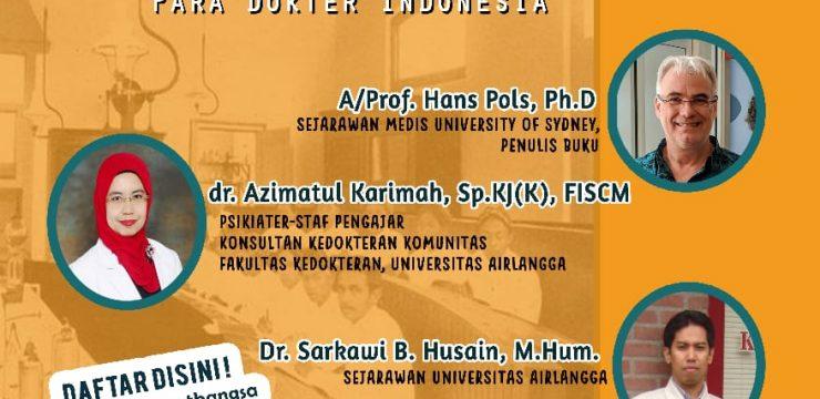 Peluncuran dan Diskusi Buku - Merawat Bangsa: Sejarah Pergerakan Para Dokter Indonesia