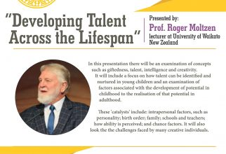 Guest Lecture: Developing Talent Across the Lifespan