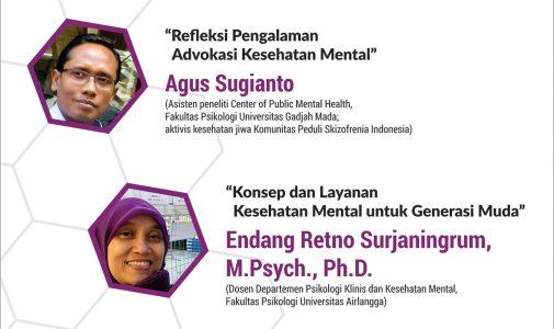 Mental Health Week Seminar - Muda, Berdaya, dan Bahagia: Menjawab Tantangan Kesehatan Mental di Era Perubahan