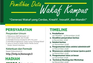 Wakaf Goes to Campus III