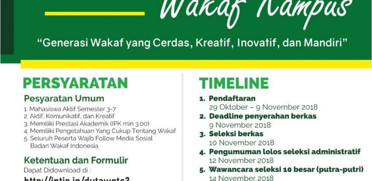 Wakaf Goes to Campus III