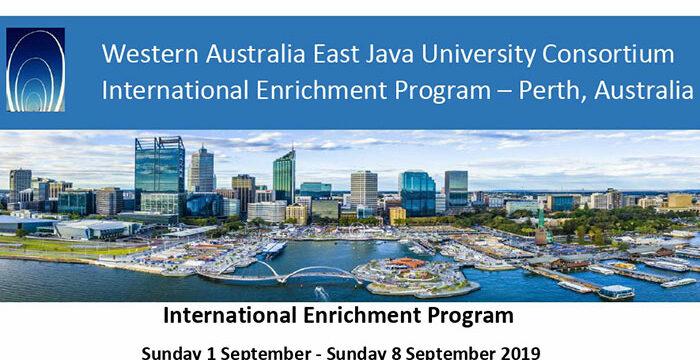 International Enrichment Program - Western Australia East Java University Consortium (WAEJUC)