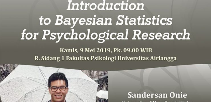 Public Lecture: Introduction to Bayesian Statistics for Psychological Research