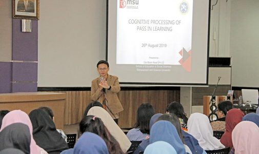Peroleh Kunjungan dari Negeri Jiran, Fakultas Psikologi UNAIR Selenggarakan Kuliah Tamu