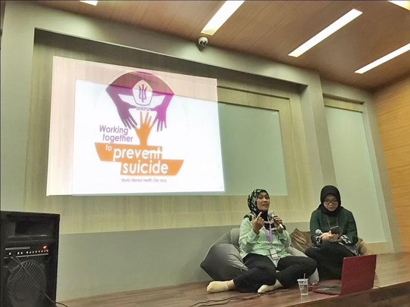 Diskusi Kesehatan Mental di Indonesia - Fakultas Psikologi