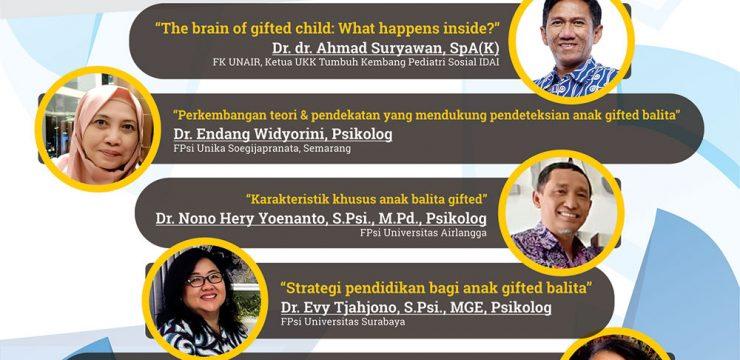 Diskusi Panel Deteksi Dini Anak Cerdas Istimewa (Anak Gifted)