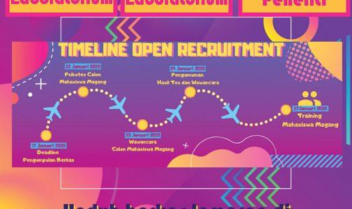 Open Recruitment Asisten Laboratorium Psikologi 2020
