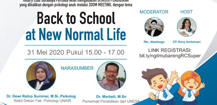 Diskusi Pendidikan: Back to School at New Normal Life