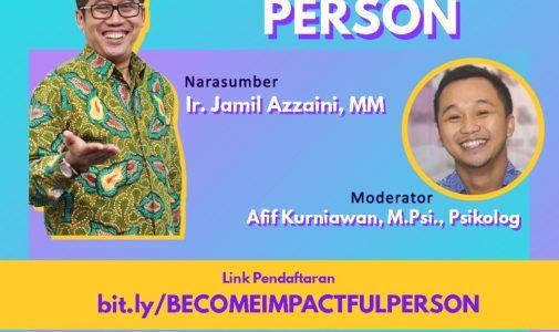 Kuliah Tamu: Become Impactful Person