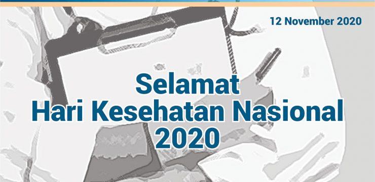 Selamat Hari Kesehatan Nasional 2020