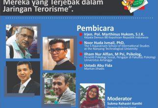 Kuliah Tamu: Pergulatan Psikologis dan Sosial Mereka yang Terjebak dalam Jaringan Terorisme