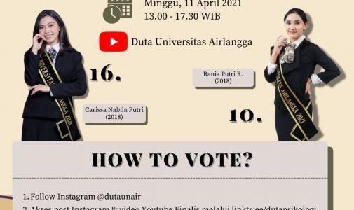 Grand Final Duta Universitas Airlangga 2021