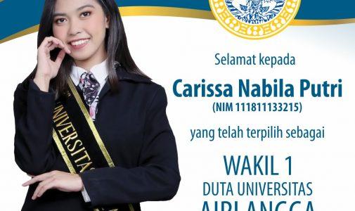 Prestasi dalam Ajang Duta Universitas Airlangga 2021