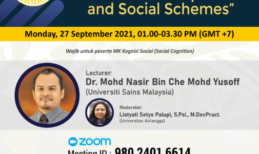 Public Lecture: Formation of Impression and Social Schemes