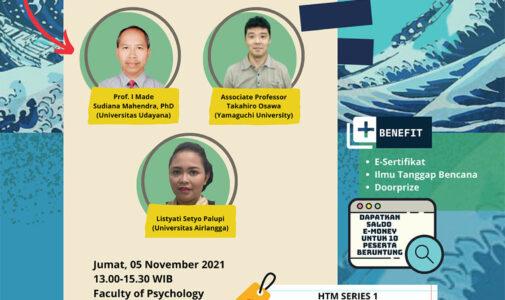 Environmental Hybrid Seminar Series 2021 - Tsunami Awareness Day