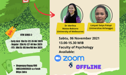 Environmental Hybrid Seminar Series 2021 - Sustainability Day
