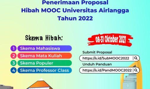 Penerimaan Proposal Hibah MOOC UNAIR Tahun 2022